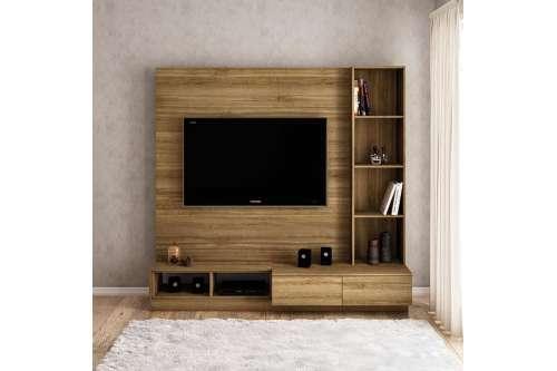 Estante Lux para TV 65 polegadas 2 gavetas 2 nichos Argel