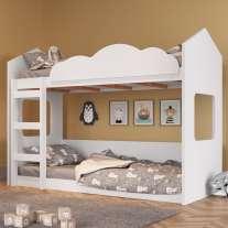 Beliche Casinha Montessoriano Branco Completa Móveis