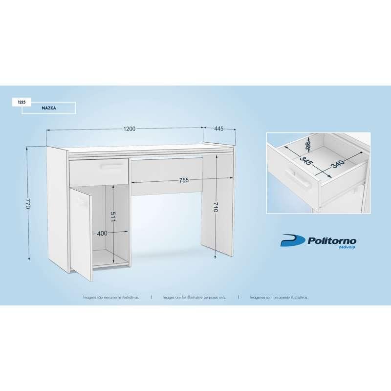 Mesa pequena para computador nazca politorno - Mesas para ordenador pequenas ...