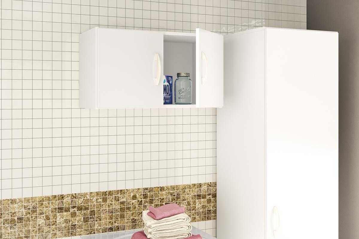 Arm rio de cozinha barato a reo 2 portas branco politorno for Armario deslizante barato