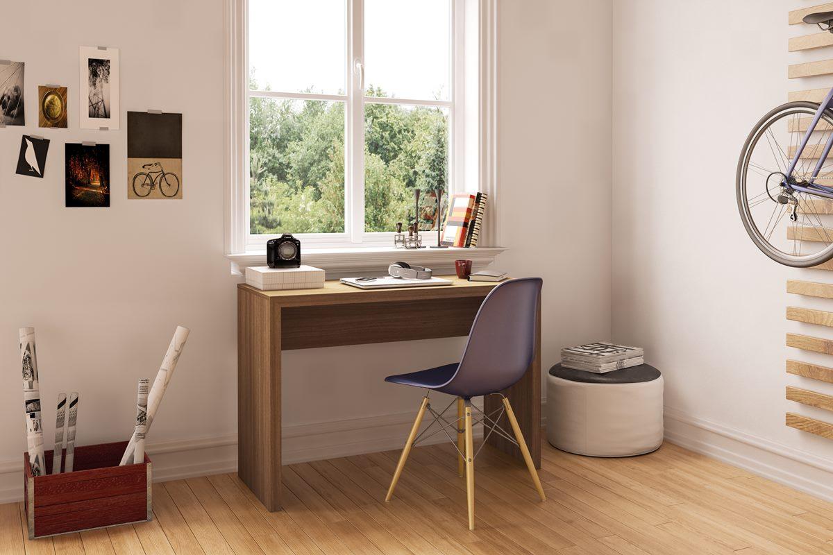 13 Op Es De Mesas Para Trabalhar Ou Estudar ~ Mesas De Estudo Para Quarto Pequeno